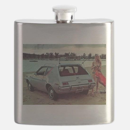 Gray 1971 AMC Gremlin Flask