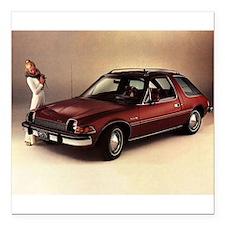 "1975 AMC Pacer Square Car Magnet 3"" x 3"""