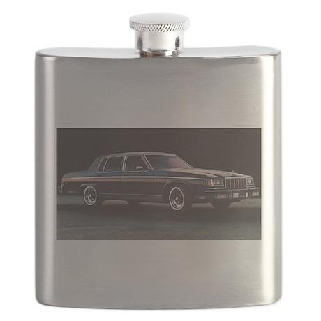1984 Blue Electra Flask