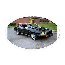 1984 Mercury Cougar Oval Car Magnet