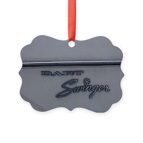 Dodge Dart Picture Ornament