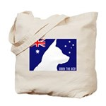 Obey the ACD! Tricolor Tote Bag
