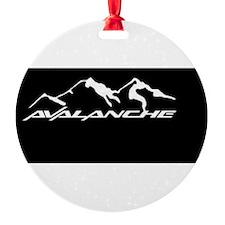 Avalanche Ornament