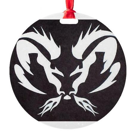 Dodge Ram Round Ornament