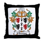 O'Donegan Coat of Arms Throw Pillow