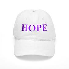 Purple Hope Baseball Cap