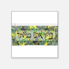 "Baruch Square Sticker 3"" x 3"""