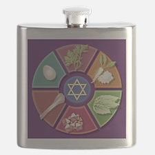 Seder Plate Flask