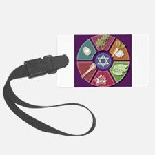 Seder Plate Luggage Tag