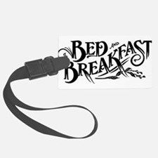 bED bREAKFAST Luggage Tag