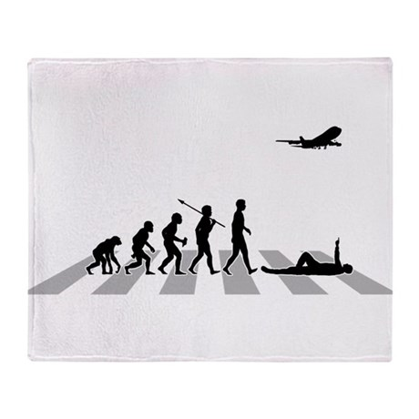 Aircraft Spotting Throw Blanket