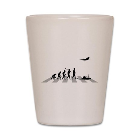 Aircraft Spotting Shot Glass