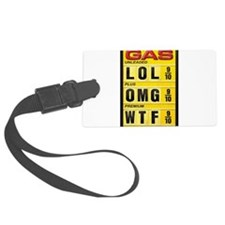 Gas Prices Luggage Tag