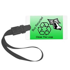 Buy Recycled Luggage Tag