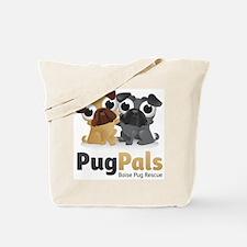 Pug Pals Logo Tote Bag