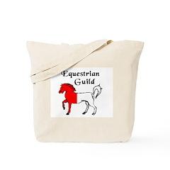 Equestrian Guild Tote Bag