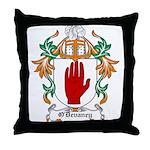 O'Devaney Coat of Arms Throw Pillow