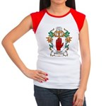 O'Devaney Coat of Arms Women's Cap Sleeve T-Shirt
