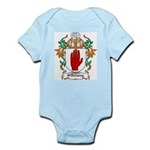 O'Devaney Coat of Arms Infant Creeper