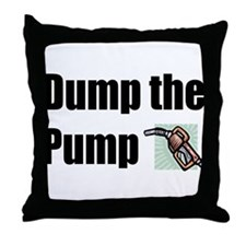 Dump the Pump Throw Pillow