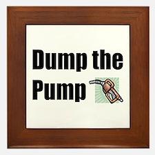 Dump the Pump Framed Tile