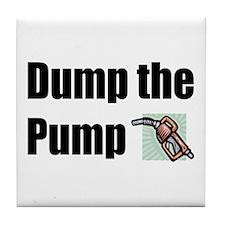Dump the Pump Tile Coaster