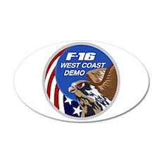 F-16 Falcon Wall Decal