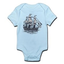 Nautical Ship Infant Bodysuit