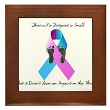 Pregnancy and Infant Loss Awareness Framed Tile
