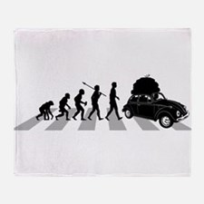 Car Traveller Throw Blanket