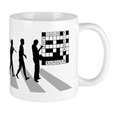 Crossword Puzzle Small Mug