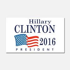 Hillary Clinton 2016 Car Magnet 20 x 12