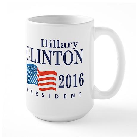 Hillary Clinton 2016 Large Mug
