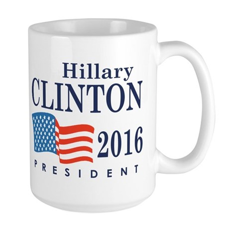 Hillary Clinton 2016 Large Mug