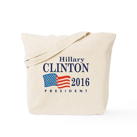 Hillary Clinton 2016 Tote Bag