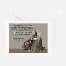 FDR CARD Greeting Cards