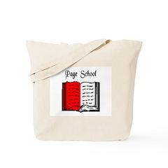 Page School Tote Bag