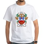 O'Denny Coat of Arms White T-Shirt