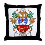 O'Denny Coat of Arms Throw Pillow