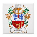 O'Denny Coat of Arms Tile Coaster