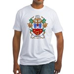 O'Denny Coat of Arms Fitted T-Shirt