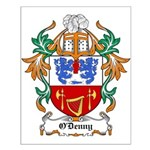 O'Denny Coat of Arms Small Poster
