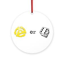 Adapt or Die Ornament (Round)