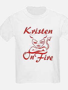 Kristen On Fire T-Shirt