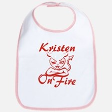 Kristen On Fire Bib