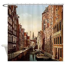 Vintage Amsterdam Shower Curtain