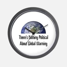 Nothing Political Wall Clock