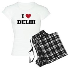 I Love Delhi pajamas