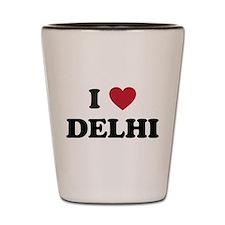 I Love Delhi Shot Glass