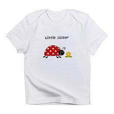 Lady Bug Little Sister Infant T-Shirt